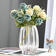Glass Vase, Transparent, Flower Base, Glass Bottle, Luxurious Arrangement, Interior, Water Cultivation, Raw Fl