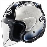 アライ(ARAI) バイクヘルメット ジェット SZ-RAM4 HARADA TOUR XL 61-62cm