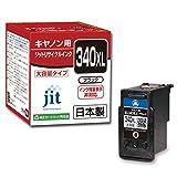 ジット リサイクルインクカートリッジ Canon BC-340XL 増量 ブラック対応 JIT-C340BXL