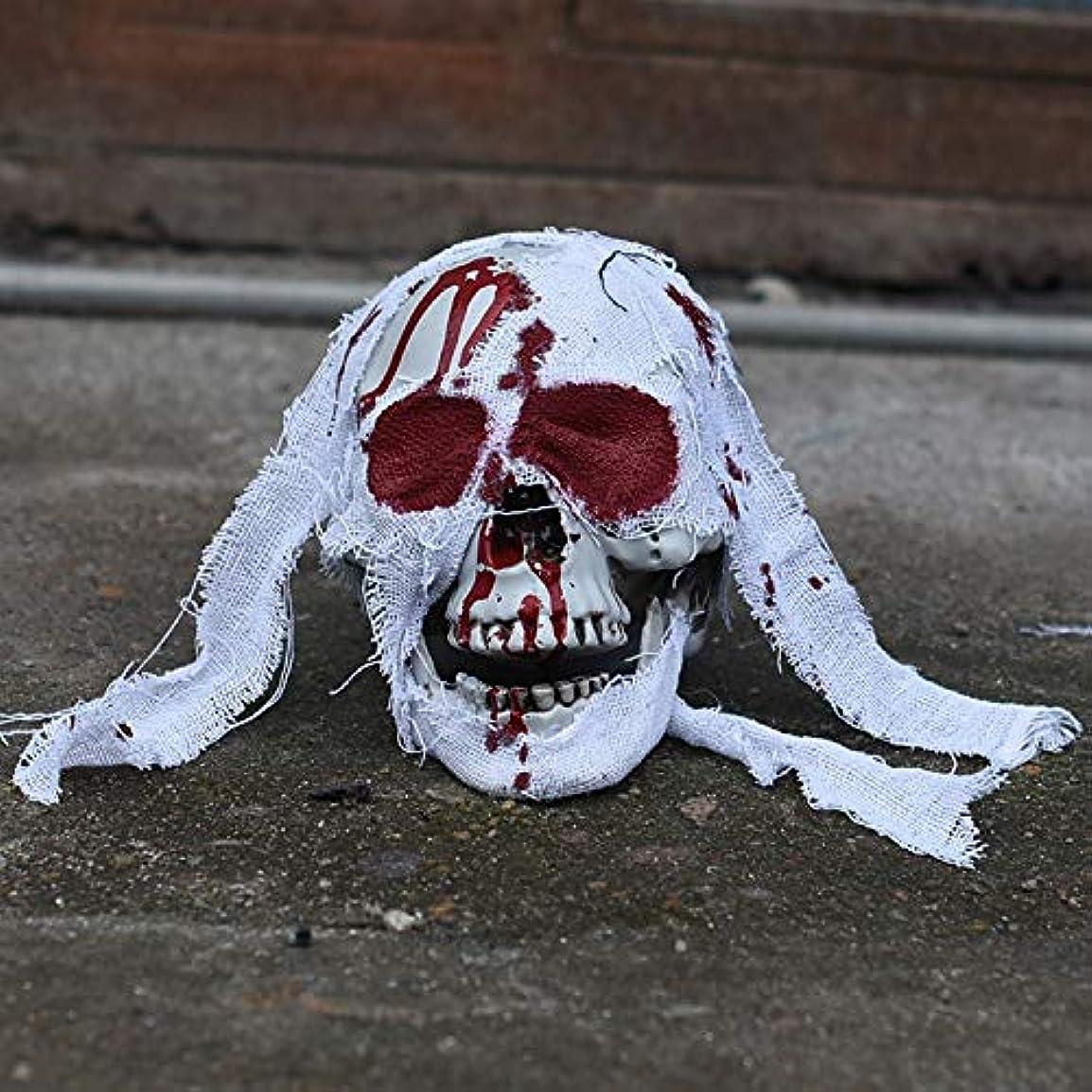 粘性の分離コテージETRRUU HOME ホラーハロウィン小道具バーお化け屋敷シークレットルームブラッディヘッド装飾コスプレ装飾