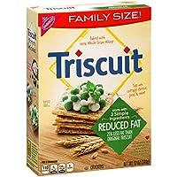 トリスケット クラッカー (減らされた脂肪、12 オンスのボックス 12 パック) Triscuit Crackers (Reduced Fat, 12-Ounce Box, Pack of 12)
