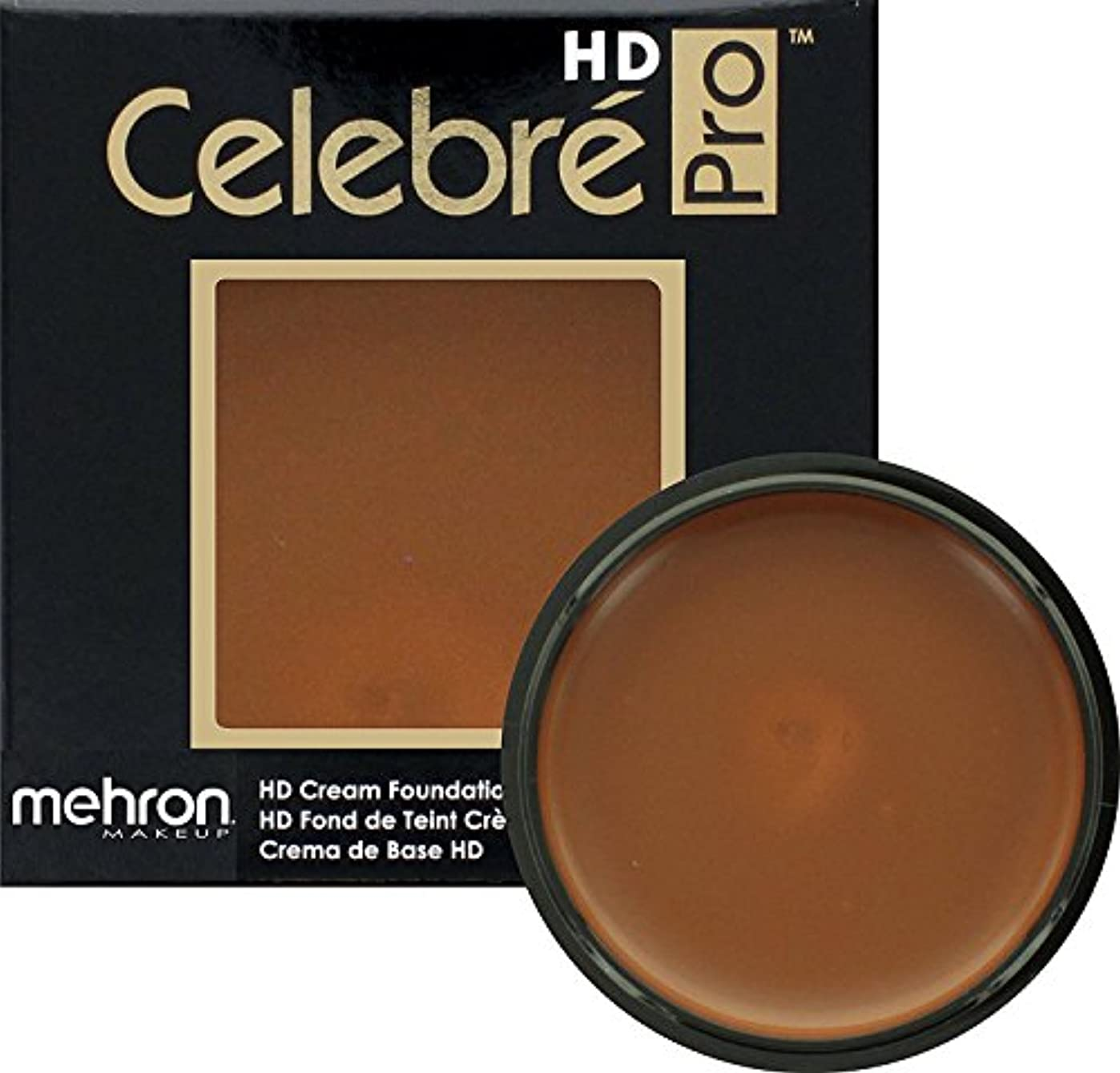 落ち着いた脱獄卵mehron Celebre Pro HD Make Up Dark 3 (並行輸入品)