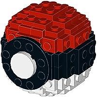 Constructibles Small LEGO Pokeball – Legoパーツ&指示キット – 77個