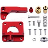 LEOWAY Upgraded Replacement Aluminum MK8 Extruder Drive Feed for Creality Ender 3/3Pro CR-10, CR-10S, CR-10 S4, and CR-10 S5