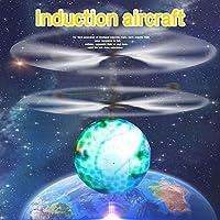 Anyutai 地球センシング航空機飛行ボール高品質中断光地球航空機モードの子供のクリスマスプレゼント