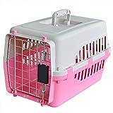 【 IATA 基準クリア】プチリュバン ペットキャリーバッグ45 ピンク 猫用・小型犬用・小動物用にも(ねこ・猫・ネコ・いぬ・犬・イヌ)