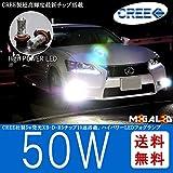 CREE製 XB-D-R5チップ搭載 50W LEDフォグランプ H16★ヴォクシー VOXY 80系 対応【メガLED】