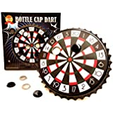 ' barwenchゲーム'ボトルキャップダーツパーティーゲーム、磁気ボトルキャップDart Board Game