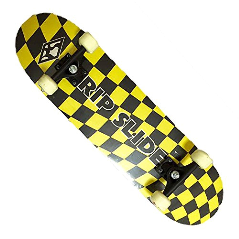 RIP SLIDE(リップスライド)31インチ スケートボードST 20096 (イエロー×ブラック)