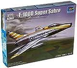 トランペッター 1/72 アメリカ空軍 F-100D スーパーセイバー プラモデル