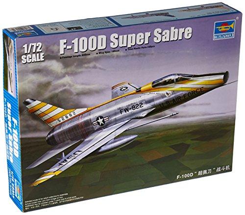 1/72 アメリカ空軍 F-100D スーパーセイバー