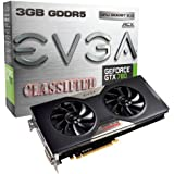 EVGA GeForce GTX 780 Classified w / EVGA ACXクーラー3 GB gddr5 384-bit、デュアルリンクDVI - I / DVI - D HDMI DP SLI Readyグラフィックスカード03 g-p4 – 3788-kr