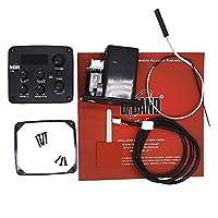 Vaorwne アコースティックギターピックアップEQギターアクセサリー B-BAND T55ピックアップ 電子チューナー演奏ボード ギターアクセサリー