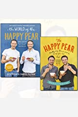 David Flynn Collection 2 Books Bundles (The World of the Happy Pear,The Happy Pear: Healthy, Easy, Delicious Food to Change Your Life) Hardcover