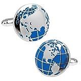 ワールドマップ 世界地図 カフス カフスリンク カフスボタン n01964