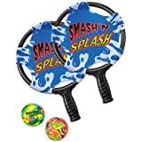 """Poolmaster Smash 'n' Splash Water Paddle Ball Swimming Pool Game, 11"""" diameter"""