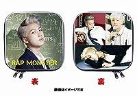 防弾少年団 BTS RAP MONSTER ラップモンスター 両面写真 CDケース DVDケース 四角 1