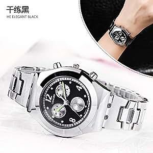 669a492723 Truda Carllyl 美しいドレス時計 LONGBO8399ファッションスチールベルト偽three-eyeダイヤモンドレディース腕時計