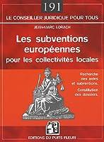 Les subventions europeennes pour les collectivites locales
