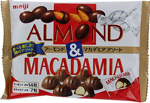 明治 アーモンド&マカダミアアソート袋 109g×18袋