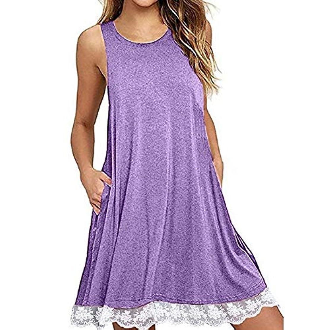 俳優引き付ける木材MIFAN の女性のドレスカジュアルな不規則なドレスルースサマービーチTシャツドレス