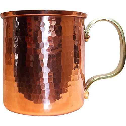 浅草 銅銀銅器店 純銅製 マグカップ 300cc 職人歴40年の星野さんが作る銅製のコップ