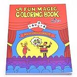 A Fun Magic Coloring Book / 本の色を変化する 面白いマジックブック 変色漫画ブック 魔法かけてる本 嬉しいチャイルドマジック 近景インタラクティブマジック道具 マジックアイテム 手品アイテム (ミドル)