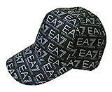 [アルマーニ] 帽子 キャップ メンズ ベースボール ゴルフ EA7 モノグラム A-2666 [並行輸入品]