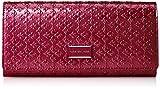 [パトリックコックス] 長財布 【ギャラクシー】 エナメル革 型押し かぶせ長財布 ファスナー小銭入付 PXLW7ET1 48 ピンク
