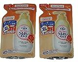 【2袋セット】 ビオレU うるおいミルク フルーツの香り つめかえ用