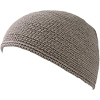 Casualbox Men Skull Cap Islam Beanie Hat Hand Made Tight Fashion