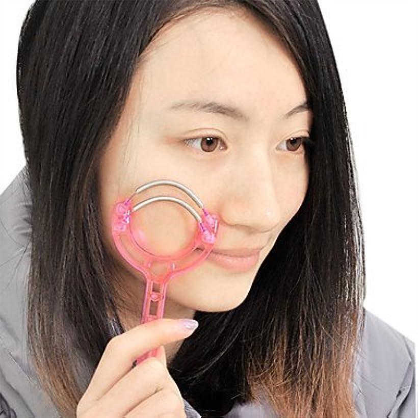 幸運空白溢れんばかりのGUANG-HOME 顔の顔の毛の除去剤のばねの取り外しの脱毛器の棒用具