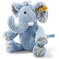 Steiff Elephant 12インチ ぬいぐるみ - 柔らかく抱きしめたくなるぬいぐるみ - 本物のSteiff