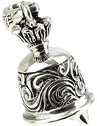 ジナブリング (JINA BRING) S&Aペンダント シルバー925 細やかな音色 アラベスク 彫刻 ベル 鈴 ペンダント トップ メンズ レディース