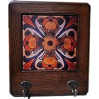 American Creative 装飾フック 壁 ソリッドウッド レトロ 個性的 キーフレーム フック コートラック 147258