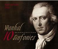 ヴァンハル・10の交響曲集Wanhal (Vanhal) 10 Sinfonies (HST-902); Bryan, C9, Es3, Es5, E1, F4, G1, G7, G8, B2, B4 楽団結成13周年特別限定版!