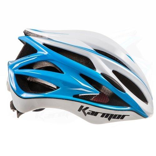 Karmar(カーマー) ヘルメット ASMA2(アスマ2) ホワイト/ライトブルー ヘルメットS/M R2KA150829X 55-58cm