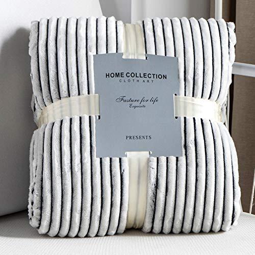 Vanxing 毛布 シングル ブランケット 掛け毛布 発熱二枚合わせ パイル シープ調 もこもこ ふわふわ 抗菌防臭 防ダニ 厚手 家庭洗濯 北欧風 冬 (150x200cm・ブラック)