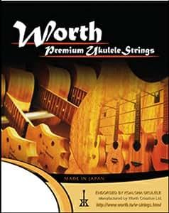 WORTH ワース弦 BM フロロカーボン弦セット ソプラノ/コンサート