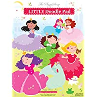 (Doodle Pad) - The Piggy Story 'Enchanted Princesses' Little Doodle Pad ArtFolio Refill