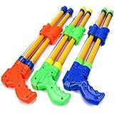 3ピース子供のウォーターシューティングおもちゃ3 - 6歳の赤ちゃんウォーターショットプルウォーターショット ( Color : Multi-colored , Size : M )