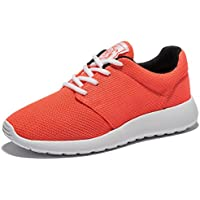 WOTTE Women's Running Shoes Breathable Mesh Sport Training Shoes Lightweight Casual Walking Sneakers