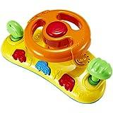 【ノーブランド 品】赤ちゃん 車 ステアリング ホイール ベビーカー 音のおもちゃ 贈り物