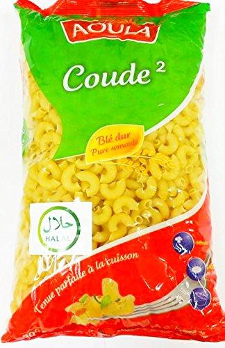 マカロニ 500g 【ハラル認証】 Halal Pasta Macaroni Coude 2  マカロニチーズ コシャリ Kushari/koshari