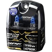 IPF ヘッドライト フォグランプ ハロゲン H3 バルブ  4700K XW27