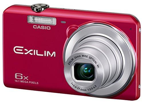 CASIO デジタルカメラ EXILIM 広角26mm 光学6倍ズーム EX-ZS29RD レッド