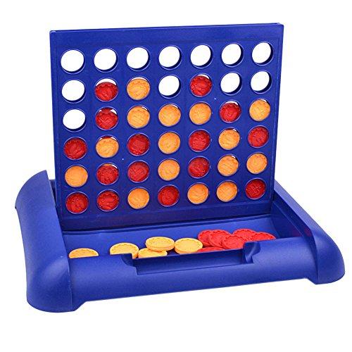 B-PING 子供たち 4行の行3次元4チェスボードゲーム 4 in A Row 親子インタラクション おもちゃ 教育玩具 小型携帯 クラシックファミリ 子供とファミリー