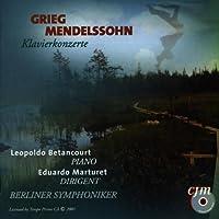 ピアノ協奏曲、他 ベタンコール(ピアノ)マルトゥレット&ベルリン交響楽団