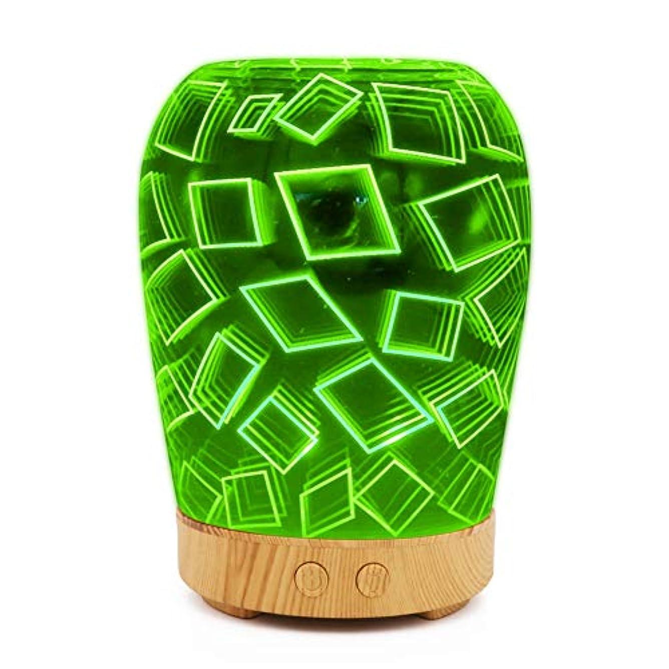 メッセージレビュー森林3Dアロマテラピーマシン加湿器、アロマエッセンシャルオイルクールミスト加湿器、調整可能ミストモード、ウォーターレスオートシャットオフ,shallowgrain2
