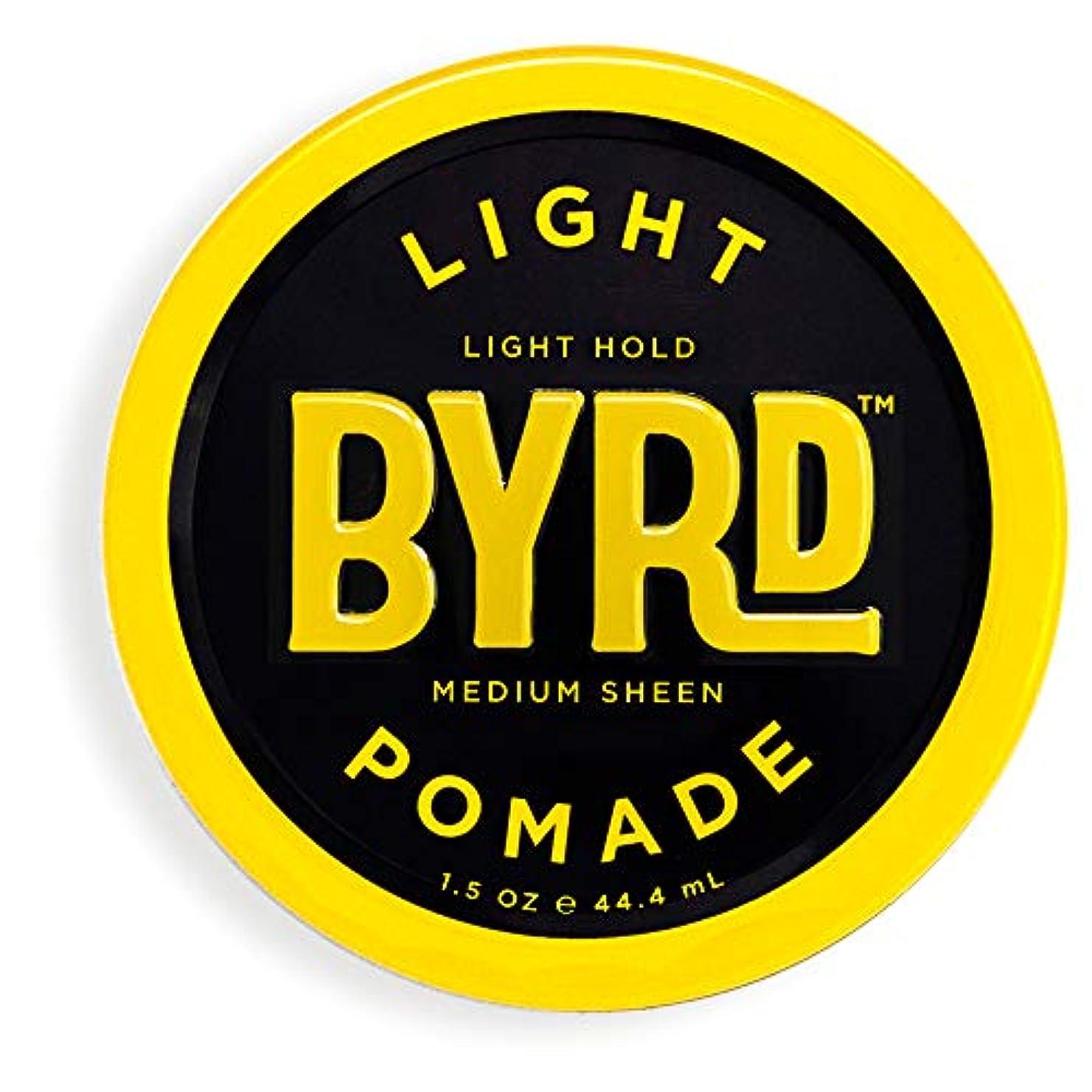 本物のローブ対抗BYRD(バード)  ライトポマード 28g